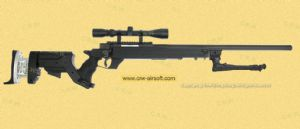 G-22 AWM Sniper stock/Hand cocking/scope/bipod (WELL MB05c)